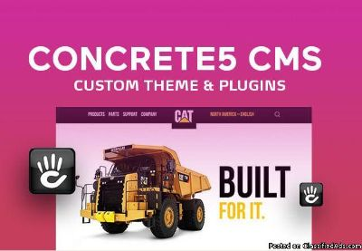 We Will Do Concrete5 Cms Plugins Or Theme Edits