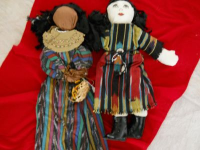 American Indians Doll Handmade and Sewn