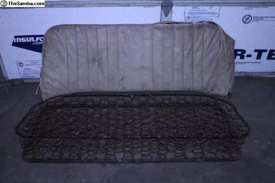52-55 Bug Hard Top Rear Seat
