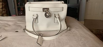 Michael Kors Hamilton and lock purse