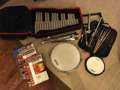 Vic Firth Percussion Kit + 3 books and sheet music