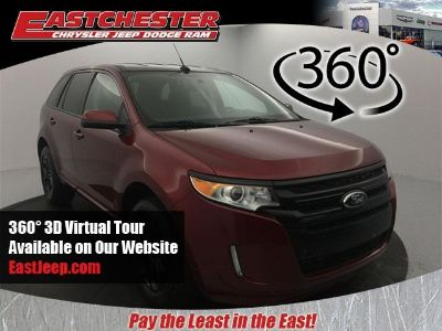 2014 Ford Edge SEL (Ruby Red Metallic Tinted Clearcoat)