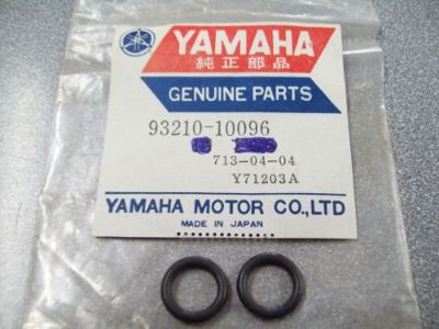 Purchase Genuine Yamaha O-Ring (2) ET410 VK540 VT480 XP500 & More 93210-10096 NEW NOS motorcycle in Sandusky, Michigan, United States, for US $5.99