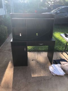 Desk-at garage sale