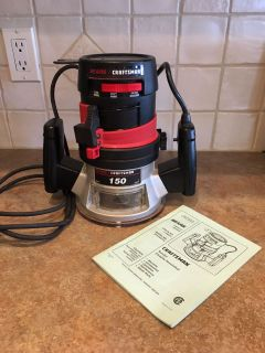 Craftsman 150 1/4 Router