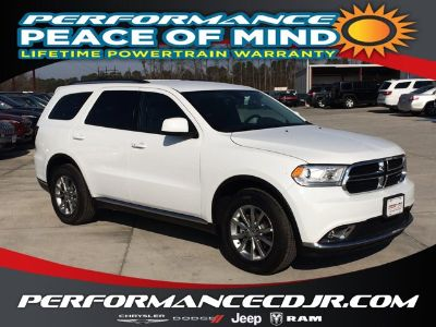 2018 Dodge Durango SXT (White Knuckle Clearcoat)