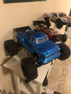 Arrma Notorious 1:8 Scale Brushless Blue Steel