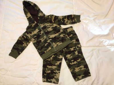 12 month fleece outfit very warm