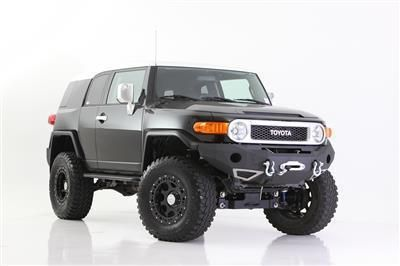 Purchase 2007-2013 Toyota FJ Cruiser Smittybilt M1 Textured Black Front Bumper 612850 motorcycle in Belton, Texas, US, for US $750.00