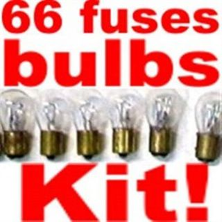 Find 66 light bulbs & fuse custom kit for Jeep 1966-1975 Replace Dim Light Bulbs!! motorcycle in Duluth, Minnesota, United States, for US $24.95
