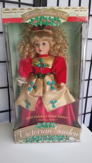 1998 Holiday Limited Victorian Garden Porcelain doll