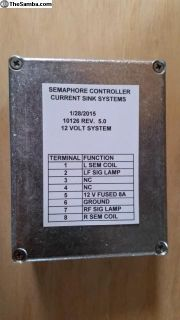Semaphore Controller for 12V or 6V Semaphores