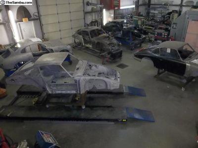 Porsche Specialty Metal Fab Rust Repair Celette