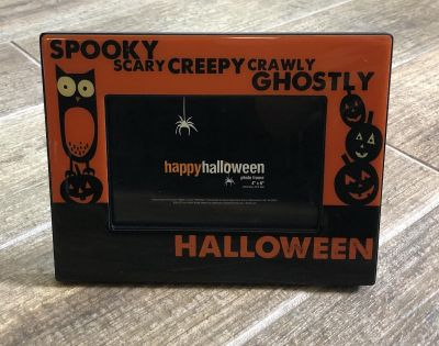 HALLOWEEN Picture Frame 4 x6