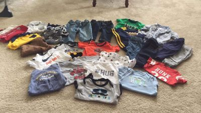 3/6/9 month lot! Mostly long sleeves/pants