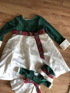 American girl and matching doll outfit size 4 worn once