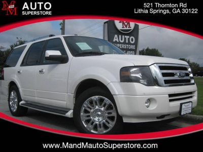 2012 Ford Expedition Limited (White)
