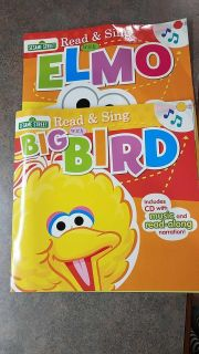 To Sesame Street read and sing with big bird and Elmo!