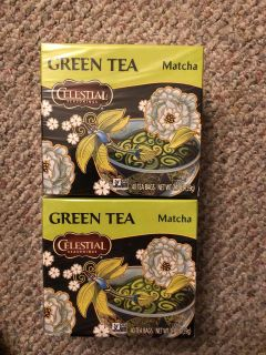 GREEN TEA BY CELESTIAL both for 3.00