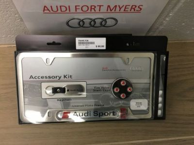Sell AUDI LICENSE PLATE FRAME OEM Brand New ZAW355040A motorcycle in Fort Myers, Florida, United States, for US $53.00
