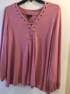 NWT Trendy Tunic Top by Cupid 2X