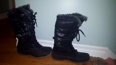 North face boots.