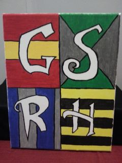 House Pride canvas painting
