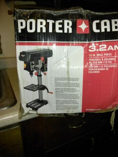 Never Used Porter Cable 10' drill press 85$