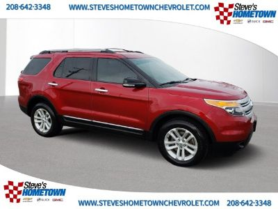 2015 Ford Explorer XLT (RUBY RED METALLIC TINTED)