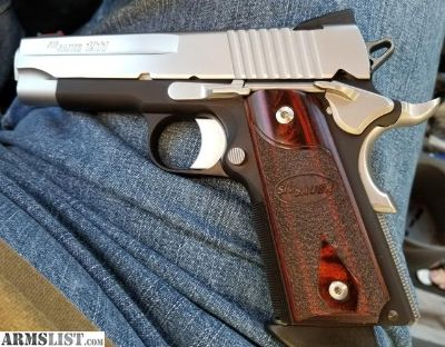 For Sale/Trade: Exceptional Sig C3 Compact 1911 FS/FT