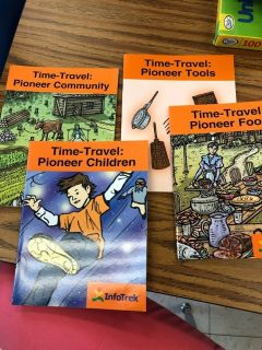 Time-Travel Pioneer Books (4 titles)