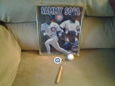 Chicago Cubs Sammy Sosa Framed Picture