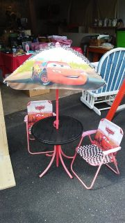 Cars table and chair set