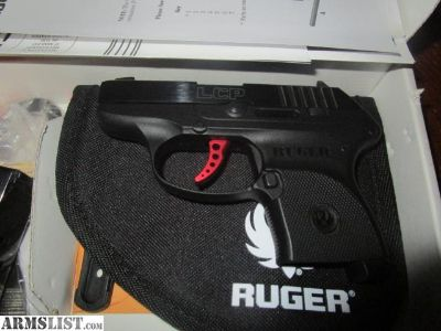 For Sale: Ruger LCP Custom and 3 magazines