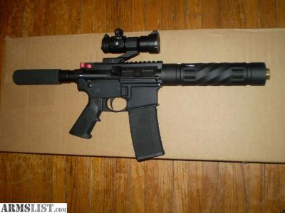 For Sale: AR-15 pistol 223/5.56 Digital Upper Anderson Lower