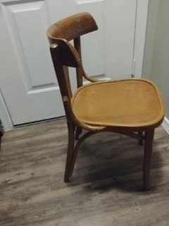 Small Vintage Wood Chair