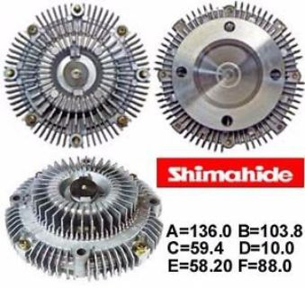 Sell FITS 91-97 TOYOTA PREVIA 2.4L FAN CLUTCH SHIMAHIDE NEW motorcycle in Paramount, California, United States, for US $98.75