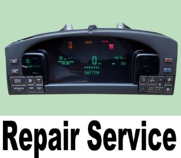 Purchase 96 97 98 99 Cadillac Deville Speedometer Instrument Gauge Cluster REPAIR SERVICE motorcycle in Houston, Texas, United States, for US $100.00