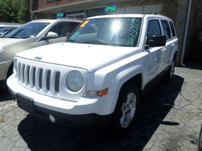 2012 Jeep Patriot Limited (White)