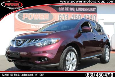 2014 Nissan Murano S (Midnight Garnet Metallic)