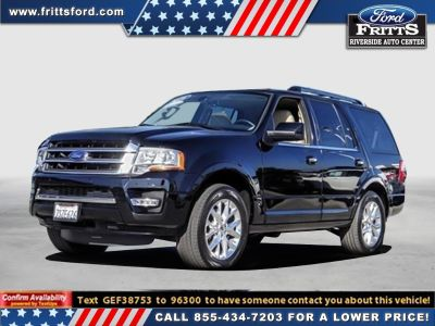 2016 Ford Expedition Limited (Black)