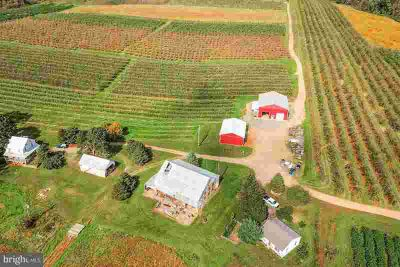 170 Opossum Hill Rd Aspers Five BR, Established Fruit Farm For