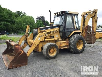 Cat 446B 4x4 Backhoe Loader