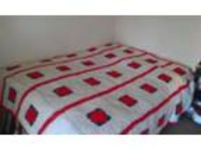 Hand made crocheted bedspread - Price: $. quot; best offer
