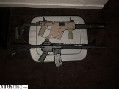 For Sale: Mossberg at-15 mmr and Kriss vector 45mm gen 2
