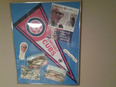 Chicago Cubs Vintage Framed Pictures