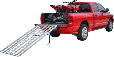 Sell NEW EXTRA LONG BI-FOLD ATV RAMP-ALUMINUM LOADING RAMPS (IBF-9444) motorcycle in West Bend, Wisconsin, US, for US $169.99