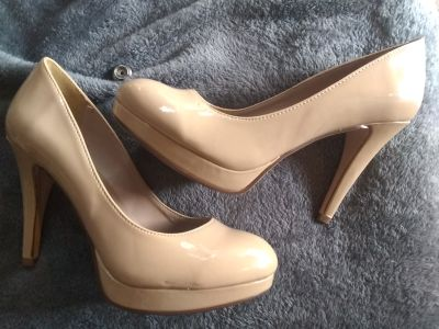 Camel colored heels