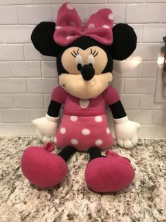 Minnie Mouse plush doll- 18 in