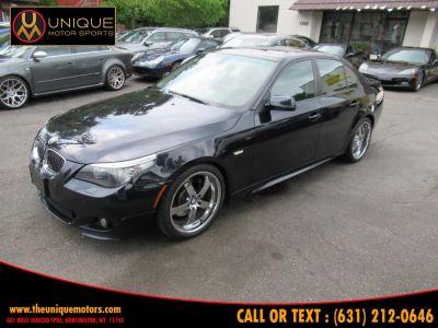 2008 BMW 5-Series 550i (Carbon Black Metallic)